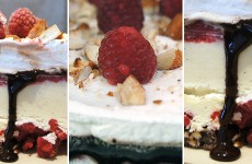 rasberry-almond-ice-cream-pie