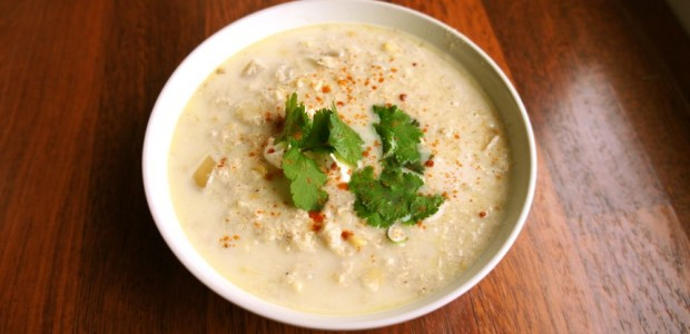 Mexican Corn Chowder, Crock Pot Style
