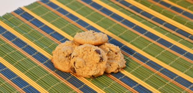 Peanut Butter Chocolate Chip Cookies (GF)