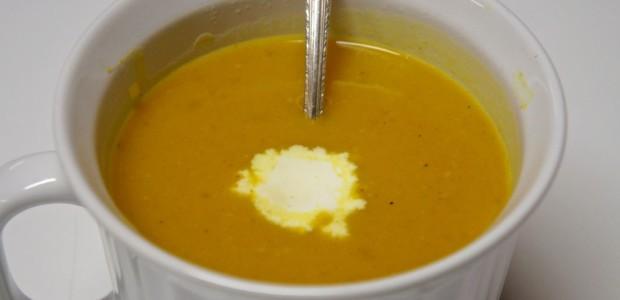 Curry Pumpkin Coconut Crockpot Soup